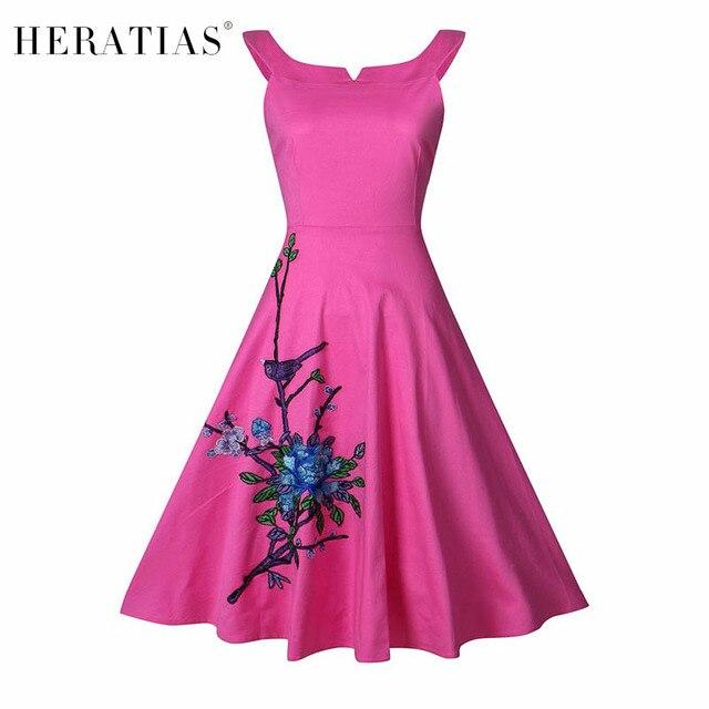 Plus Size Women Dress Clothing Audrey Hepburn Embroidery Robe ...
