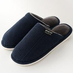 Homens chinelos de pelúcia curto designer chinelos casa homem inverno sólido quente não-deslizamento rebanho sapatos masculinos 2019 nova chegada