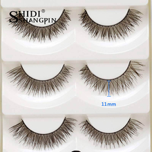 5 Pairs of Women Makeup Beauty False Eyelashes Popular Messy Nature Eye Lashes Long Black EyeLash Extension thick false #S15