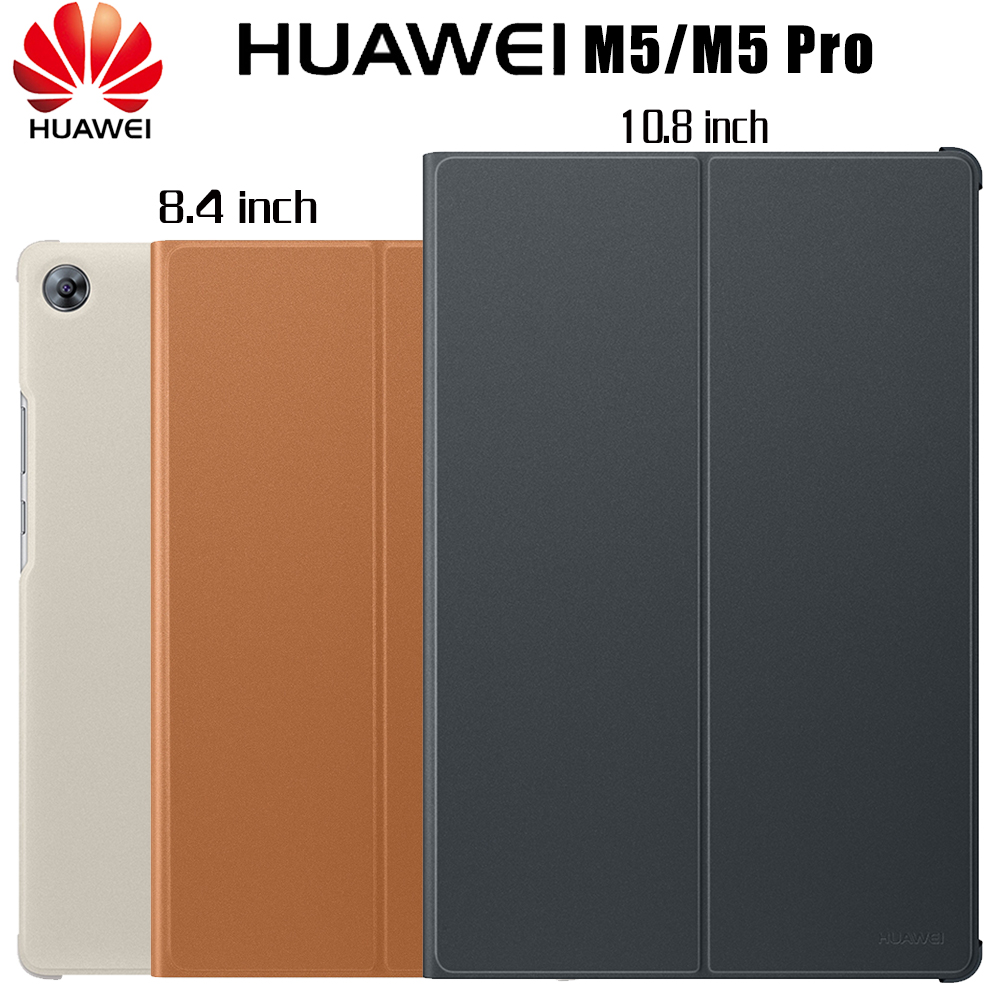 HUAWEI M5 Pro Case Official Original Smart View HUAWEI Mediapad M5 Case Kickstand Flip Leather M5 Case Tablet Cover 8.4 10.8
