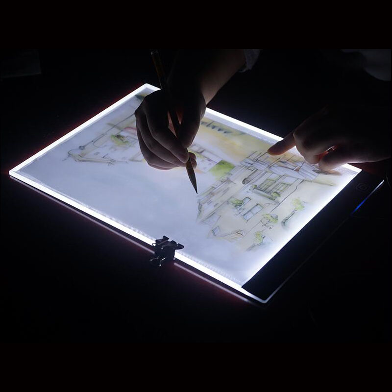 A4 LED Cartoon Light Tablet Pad USB Charging Copyboard Board Light Table Diamond Painting Cross Stitch tool-25A4 LED Cartoon Light Tablet Pad USB Charging Copyboard Board Light Table Diamond Painting Cross Stitch tool-25