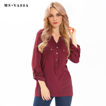 Ladies Tees Casual Women Tops T-shirt