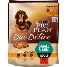 Сухой корм Pro Plan DUO DÉLICE для взрослых собак мелких и карликовых пород с говядиной и рисом, Пакет, 700 г