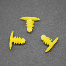 Xbs 200pcs Universal Auto Fastener Replace Screws Weatherstrip Retainer Plastic Rivets Seal Clip for Honda Toyota For All Car