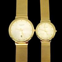 Men's Women's Thin Wrist Watch Couple Julius Quartz Hours Best Fashion Dress Bracelet Metal Band Lover's Birthday Gift JA-426