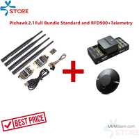 Hex Technology Pixhawk 2.1 Full Bundle Standard Carrier Board RFD900+ Telemetry Combo for RC FPV drone