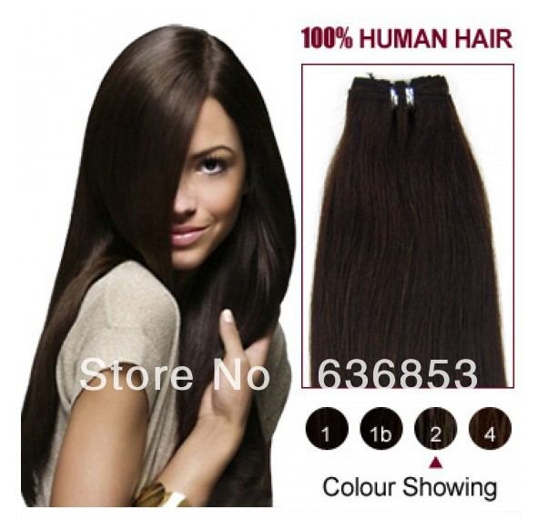 Virgin brazilian straight 4a gradehair weavecolor2 dark brown virgin brazilian straight 4a gradehair weavecolor2 dark brown12inch pmusecretfo Gallery