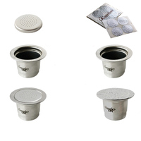 Stainless Steel Practical Coffee Capsules Refillable Capsule Cups Reusable Coffee Capsule Filter For Nespresso Coffee Machine