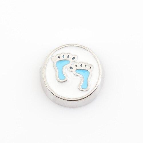 Blue Baby Footprints