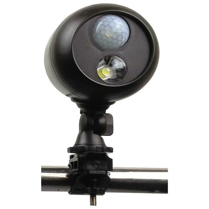 ФОТО High quality motion Sensor Waterproof Outdoor Led Modern battery  Wall Light from asmile