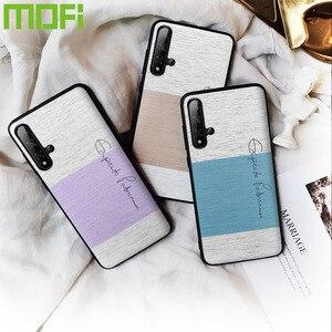 Mofi для Huawei Honor 20 Pro, чехол, оригинал, Honor 20, задняя крышка, противоударный, хлопковая ткань, роскошный, Honor 20 Lite, защитный чехол