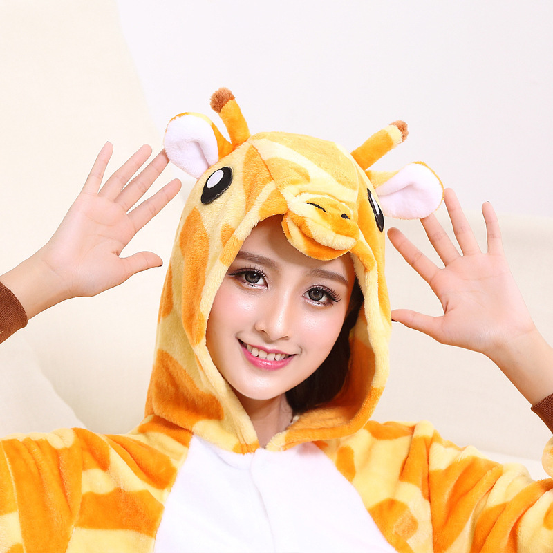 animal Giraffe adult onesie