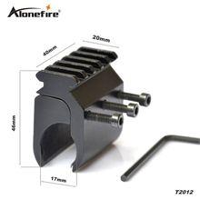 AloneFire T2012 тактический 20 мм Пикатинни Вивер рельс Базовый адаптер Охотничья винтовка пистолет прицел конвертер лазерный прицел База крепление