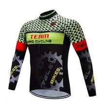 TELEYI pro pullover di riciclaggio mtb della bicicletta clothing maillot ciclismo abbigliamento sportivo mens bike abbigliamento