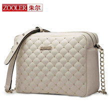 ZOOLER Brand women messenger bags genuine leather bag Luxury fashion high quality Chian Solid color free shipping