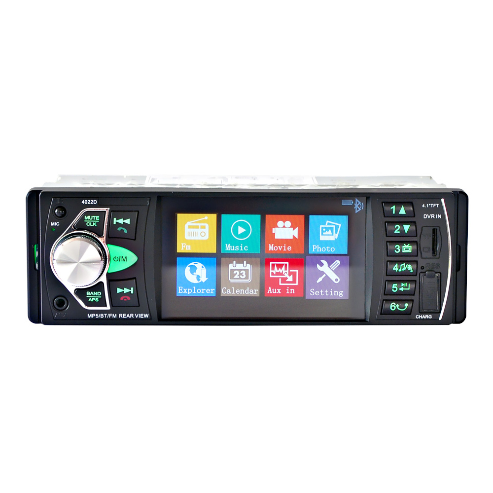 "4022D  4.1"" TFT HD Digital Car MP5 Player Car MP5Player In Dash Universal Auto Radio Stereo Car Audio Video Multimedia Player-in Car Radios from Automobiles & Motorcycles"