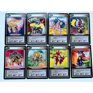 Image 5 - 36 sztuk/partia Cartoon kolekcja karty Digimon przygoda cyfrowy Agumon War Greymon Action Figures Evolution karty handlowe Kid Toy