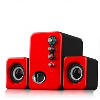 Multimedia USB 2,1 Audio estéreo activo Altavoces de Mini Ordenador portátil Subwoofer...
