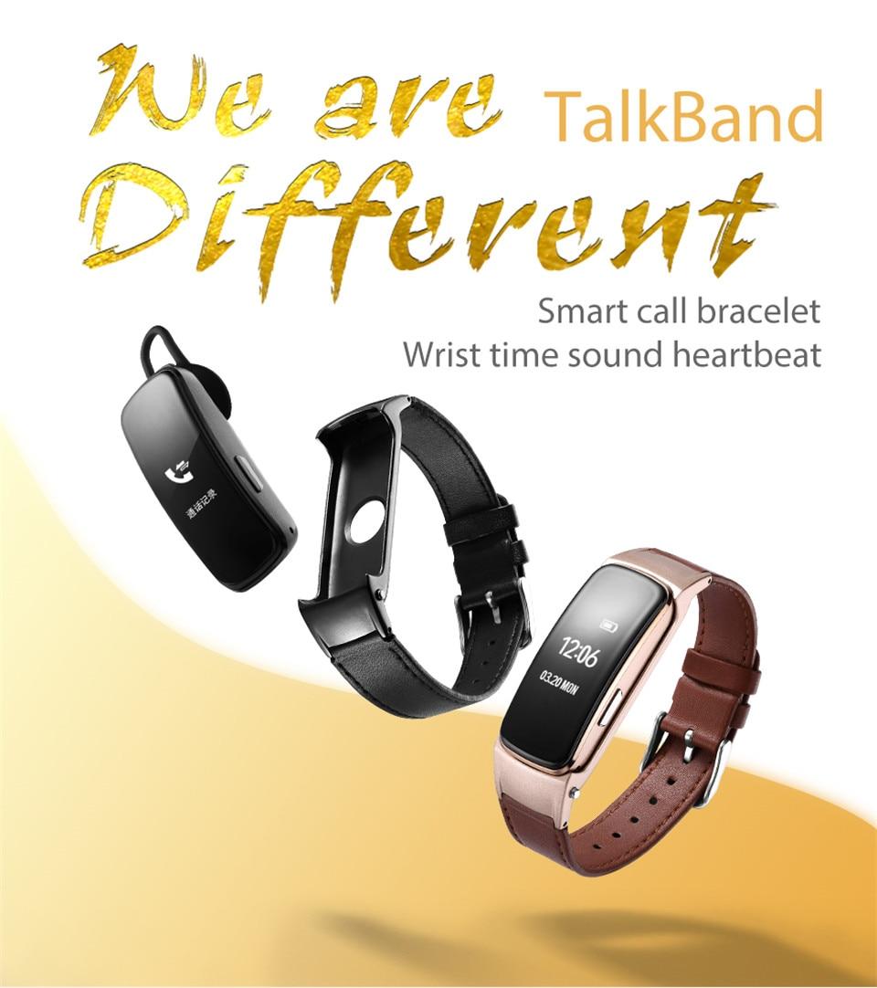 YKSO Bluetooth Smart band With SIM Card  smart bracelet B3 Plus Smart Wristband Heart Rate Monitor Smart band  (2)