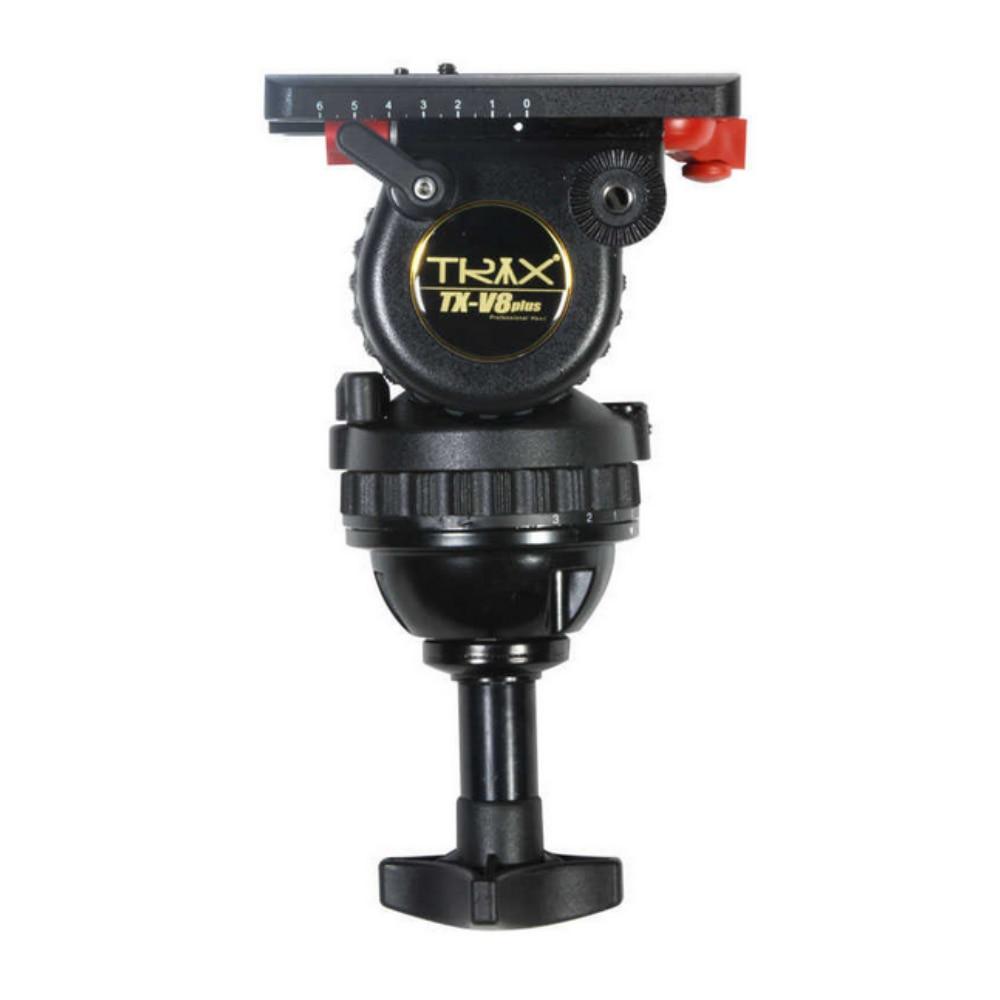 TRIX Teris TX-V8 TS80 tête fluide tête de trépied professionnel 75mm bol charge 8 KG pour trépied vidéo HDV C300 BMCC appareil photo Tilta