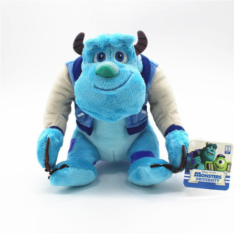 Image 4 - 1piece 22cm Monsters University Sulley Sullivan Plush Toy Stuffed Animals Baby Kids soft Toy for Children Christmas GiftsMovies & TV   -