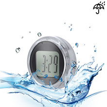 Universal Motorcycle Clocks Watch Waterproof Stick-On Motorbike Mount Watch Moto Digital Clock Suit All Moto(China)