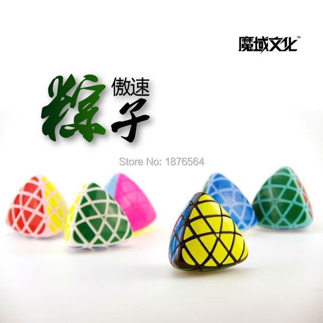 MoYu Aosu Stickerless Mastermorphix Rice Dumpling Speed Magic Cube Twisty Puzzle Cubes Toys For Kids
