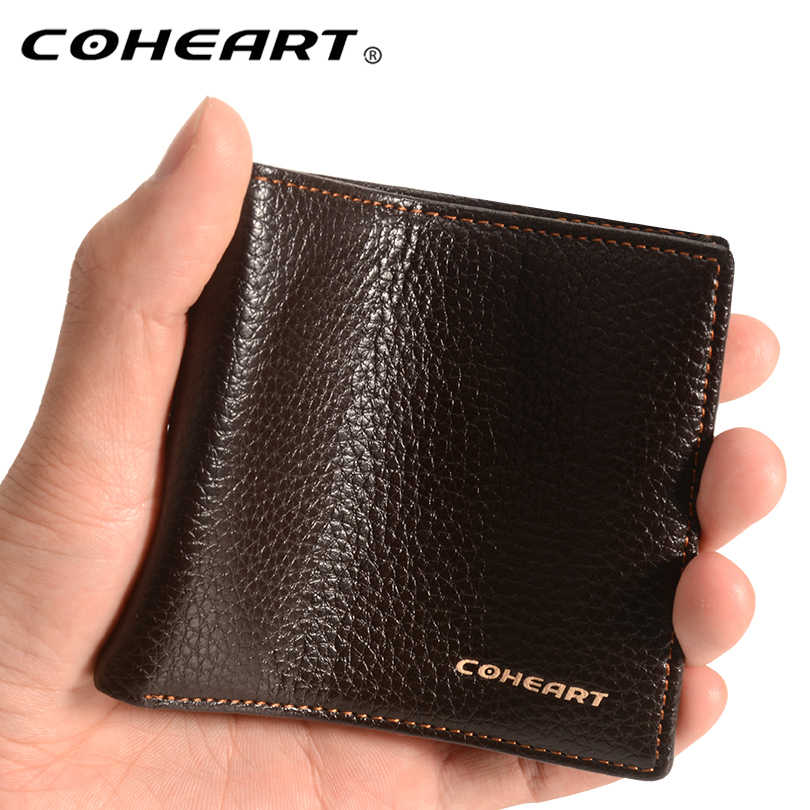 Wallet Men Top Quality purse men business casual men wallet small purse male clutch card holders money bag  Wallet Top Grade !