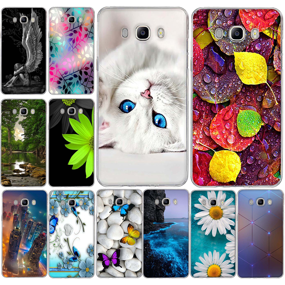 Galleria fotografica Case for Samsung Galaxy J5 2016 Phone Case For Samsung Galaxy J1 2016 Case 3D TPU Silicon Cover For Samsung Galaxy J3 2016 Cover