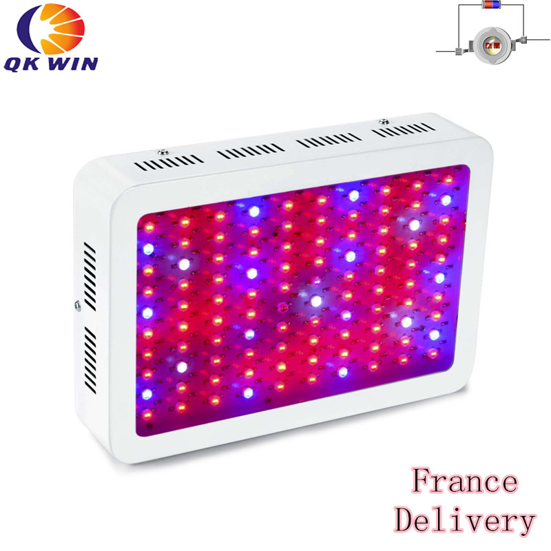 1pcs 1000w led grow light 100x10w with double chip 10w chip leds full spectrum led grow light France Warehouse drop shipping 1000W LED Grow Light 100x10W with double chip 10W chip leds Full Spectrum LED Grow Light