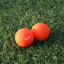 Body Building Yoga Double Massage Ball Mobility Myofascial Trigger Point Release Peanut Ball Outdoor Fitness Ball Equipment