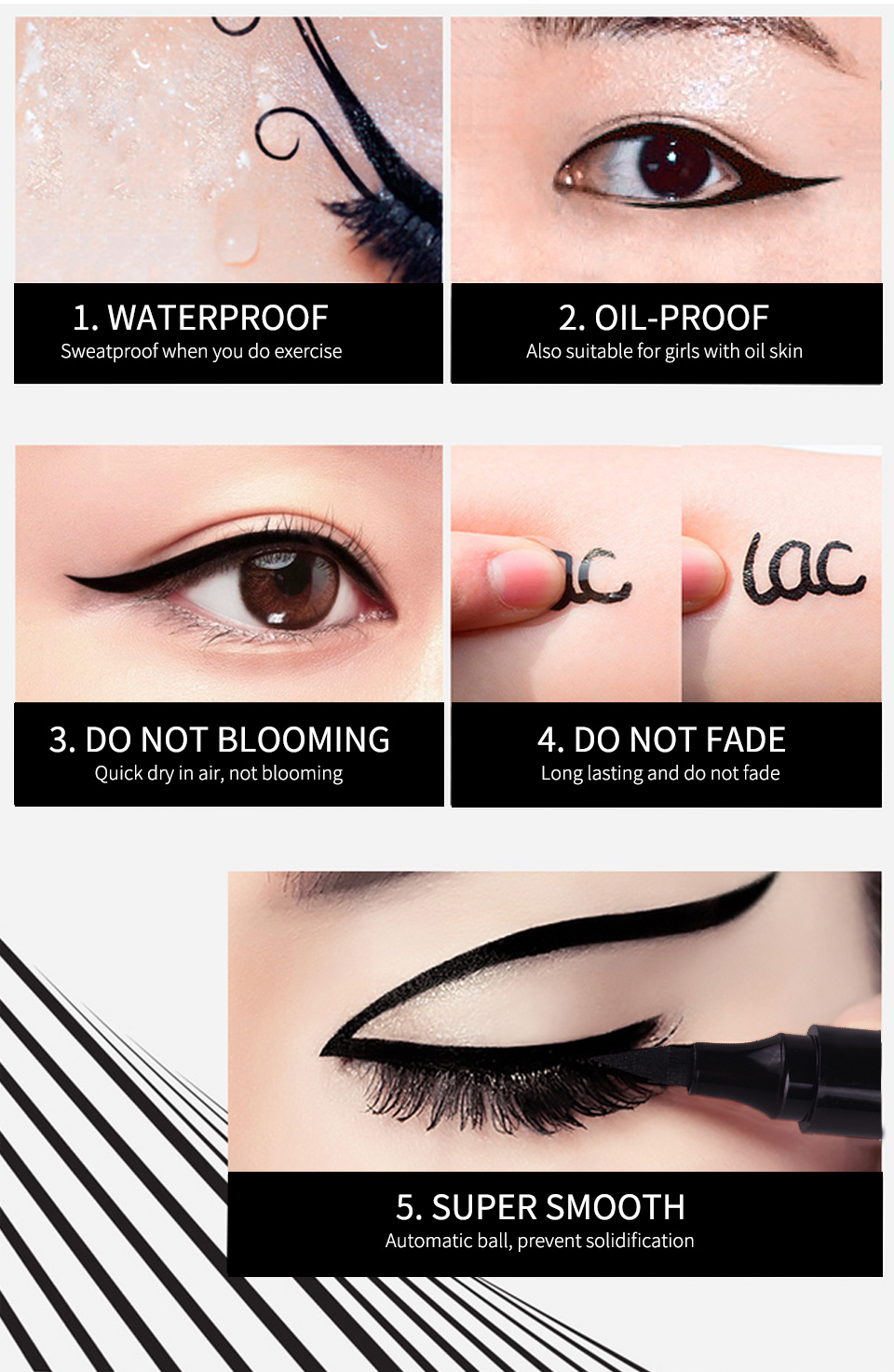 IBCCCNDC Liquid Pencil Black Eye Liner 13