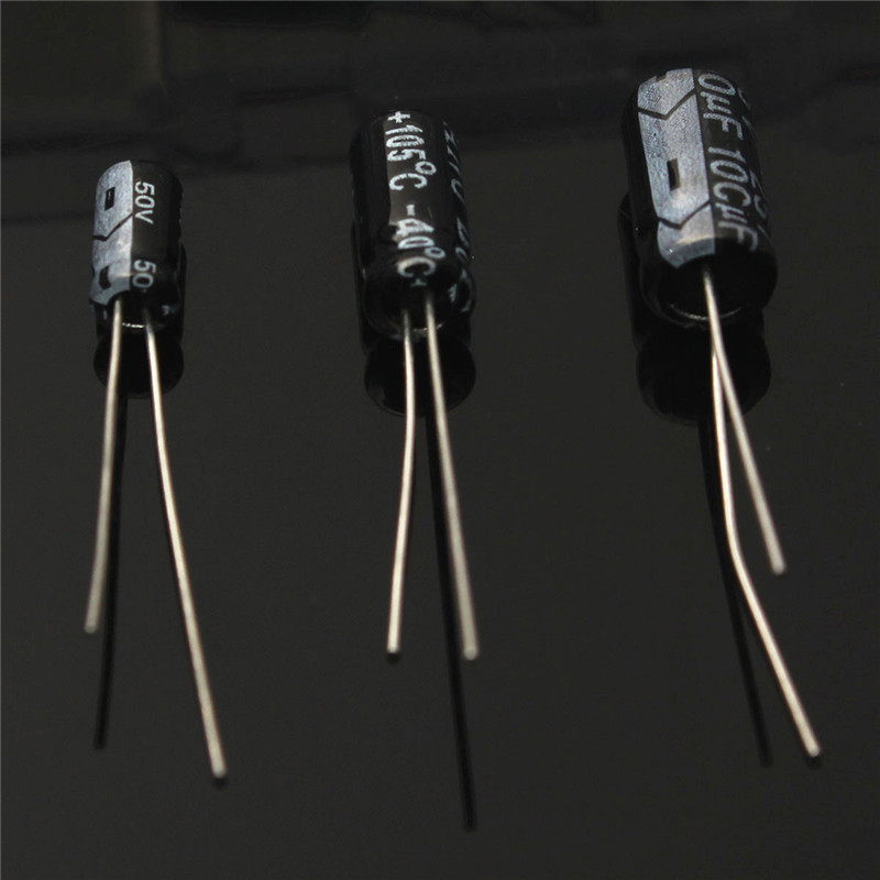 15value 200pcs Electrolytic Capacitor Assortment Box Kit
