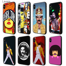 Lavaza Queen Freddie Mercury Soft Silicone Case Cover for Apple iPhone 6 6S 7 8 Plus 5 5S SE X XS MAX XR TPU Cases mercury goospery i jelly case for iphone se 5s 5 metallic finish tpu cover black