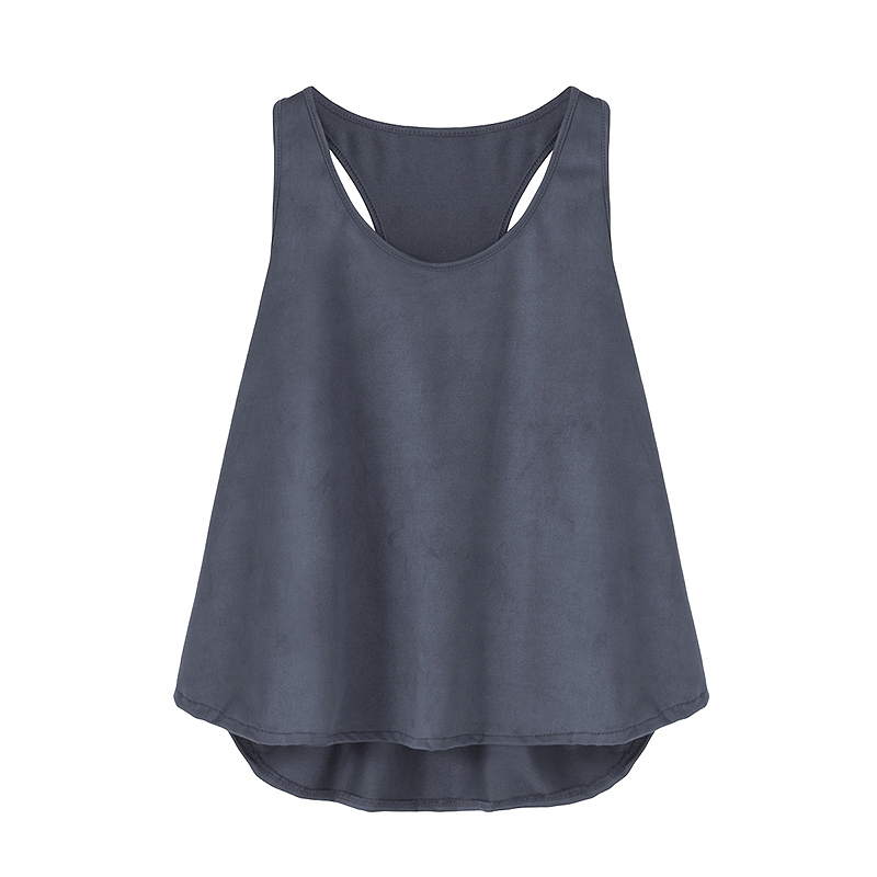 Women Sexy Tank Tops 2018 New Summer Style Round Neck Sleeveless Fashion Solid Casual Loose Vest Tops Woman Clothes Plus Size