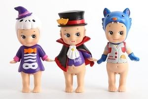 Image 3 - 6 figuras de acción de PVC coleccionables para niños, Mini Serie de Halloween de PVC de 6 estilos, regalo de Navidad