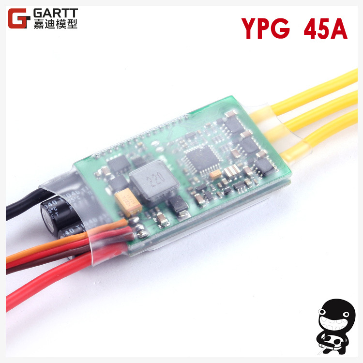 ФОТО  YPG 45A 2~6S SBEC Brushless Speed Controller ESC