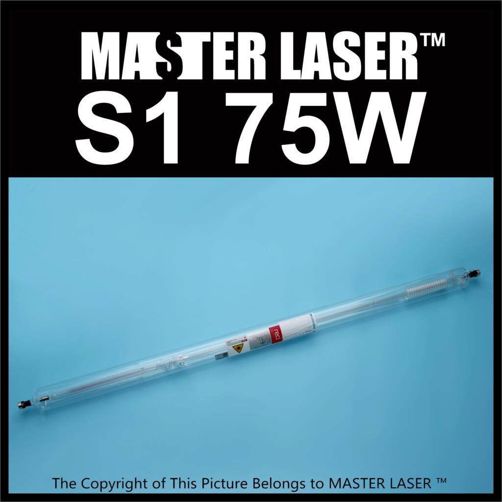 цена на Reci Laser Tube S1 75W Peak Power 90W for CNC Laser Cutting Machine