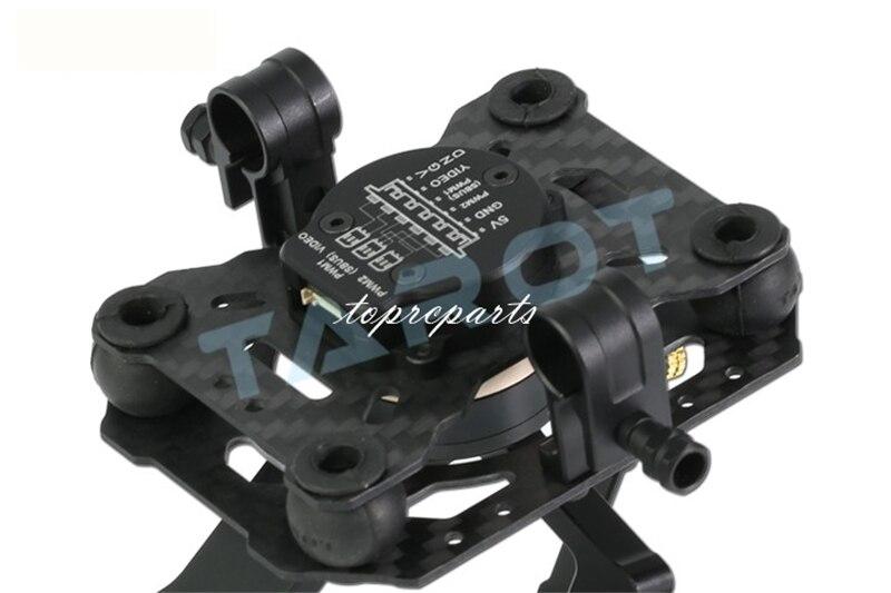 Tarot TL3T01 3 Aixs cardan sans brosse pour bricolage RC Drone caméra Gopro HERO3 HERO4 Sport caméra photographie aérienne FPV - 5