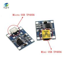 TP4056 1A Lipo Battery Charging Board Charger Module lithium battery DIY MICRO Port Mike USB New Arrival TP4056 MINI USB(China)