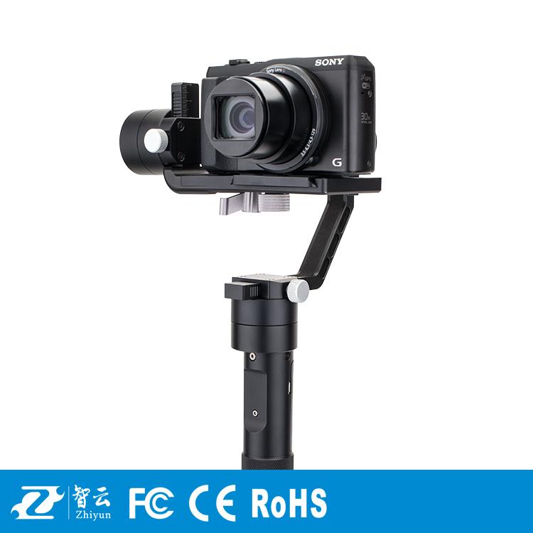Prix pour Zhiyun grue m 3 axes de poche stabilisateur cardan pour dslr caméras soutien 650g smartphone gopro 3 xiaoyi d'action caméra f19238