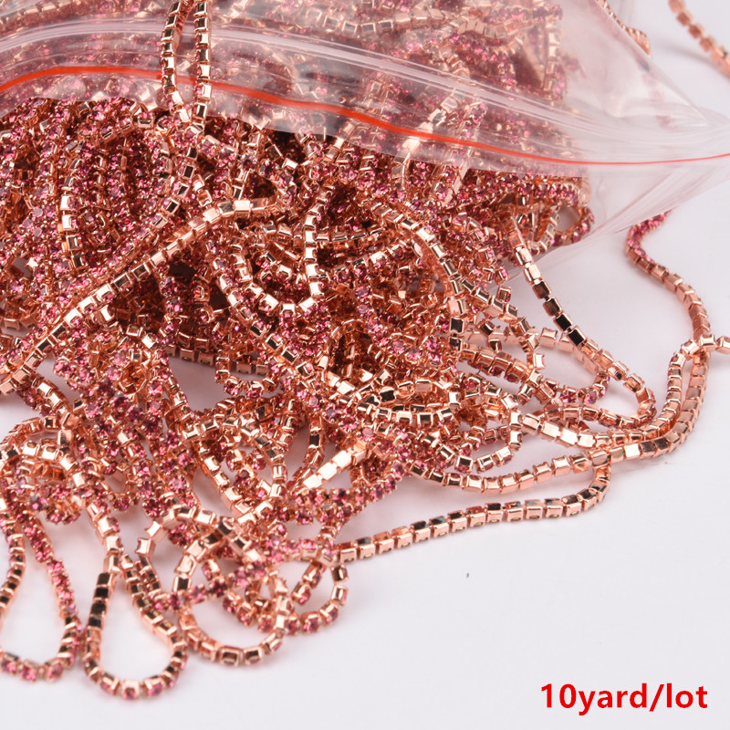 Cloth Accessories Metal Chain Belts with Rhinestones Metal Belts with Stone 1p