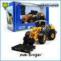 Mr. Froger Ioader Carretilla Elevadora modelo de aleación de vehículos de Construcción de camiones de Ingeniería Refinada Decoración de metal