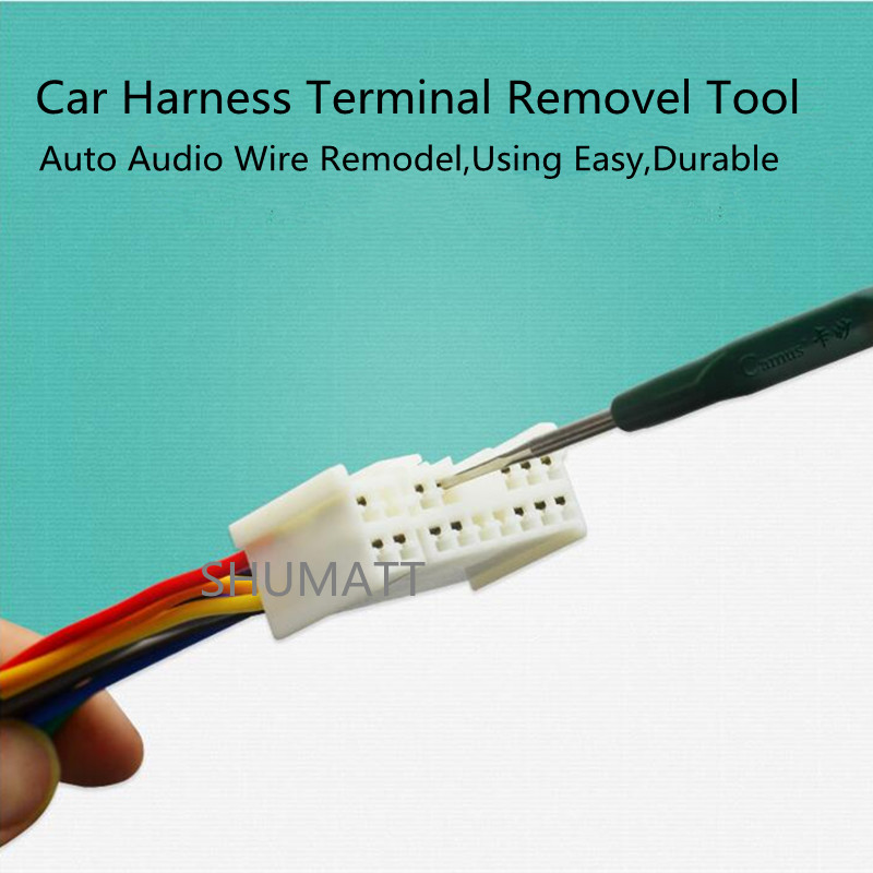 5pcs Car Wire Harness Terminal Removel Tool Circuit Socket Hook Pin Probe Dismount Repair Kits High 5pcs car wire harness terminal removel tool circuit socket hook pin