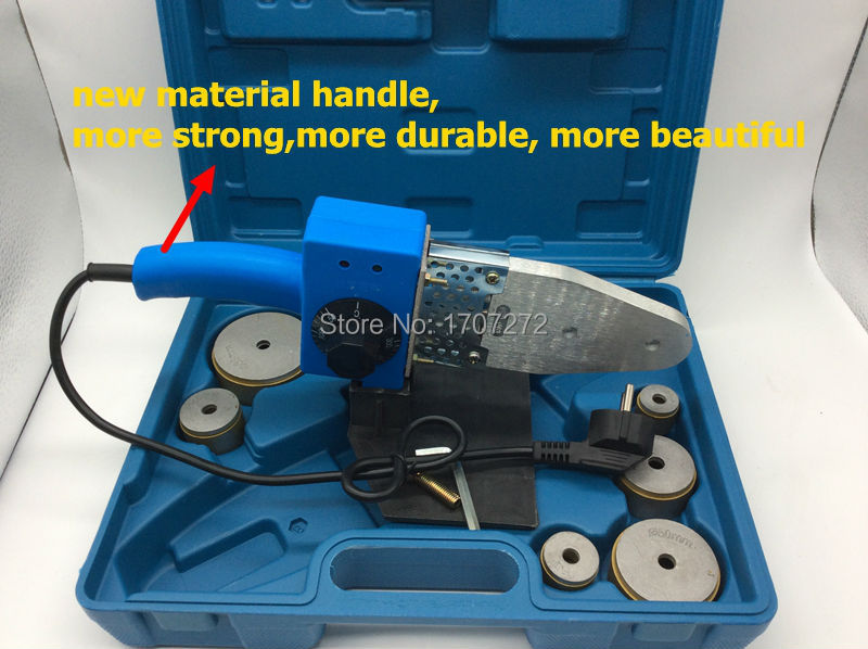 Free Shipping Temperature controled PPR welding Machine AC 220V 800W  20-63mm welder for plastic pipe welding helmet welder cap for welding equipment chrome for free post