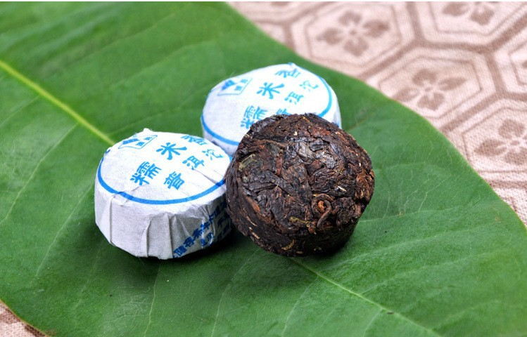 C-PE045 Promotion Top Quality Chinese yunnan puer tea pu er tuocha cooked puerh tea pu'er for lose weight Organic Green Food