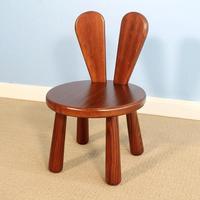 Brown Finish Modern Child Wood Chair Kids Furniture Wooden Kindergarten Chair Childen For Study/Eating Small Child Desk Chair