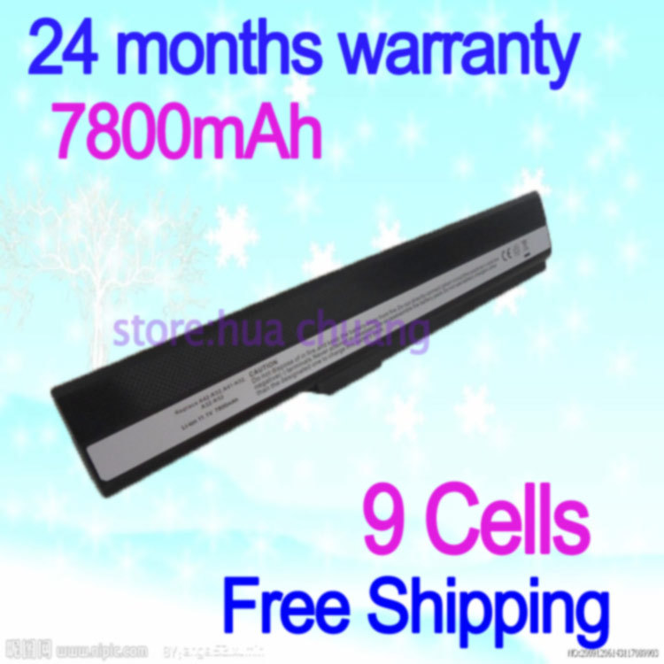 JIGU High Qualiy 9cells Laptop Battery for ASUS K52 K52D K52DE K52DR K52F K52J K52JB K52JC  K52JE  K52JK  K52JR  K52JV K52N 5200mah laptop battery for asus a52 a52f a52j k42 k42f k52f k52 k52j k52jc k52je a31 k52 a32 k52 a41 k52 a42 k52 bateria akku