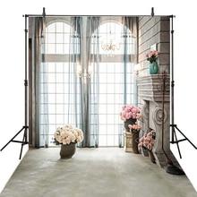 Wedding Photography Backdrops Curtain Backdrop For Photography Flowers Wedding Background For Photo Studio Foto Achtergrond