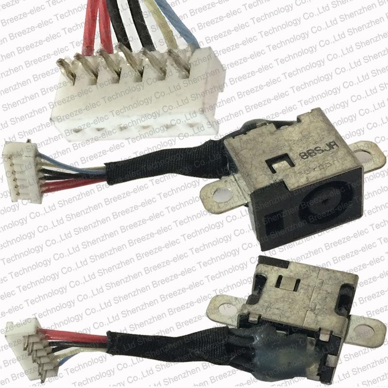 100% originalni originalni novi prenosni računalnik DC napajalni kabel kabelski snop za HP Pavilion DV3000 DV3500 serije Brezplačna dostava